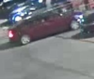 18083474 - Theft suspect vehicle is possibly a burgundy/maroon Cadillac (CTS or XTS) displaying paper tag 17434J.