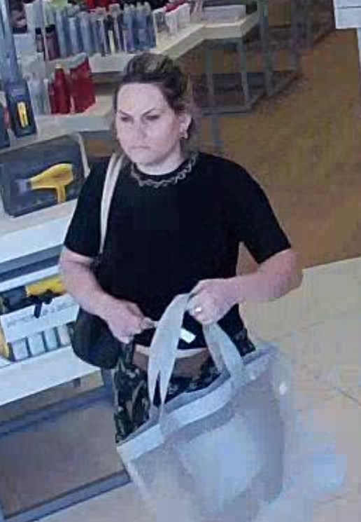 Suspect 1 of 3 involved in stealing merchandise from Ulta.