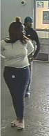 Suspect #1 is an unidentified black female.