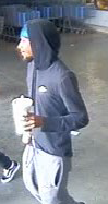 Unidentified suspect #2 appears to be a black male.