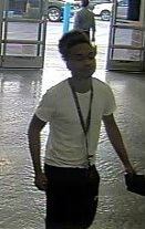 Unidentified suspect #3 appears to be a black male.